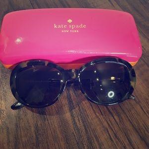 ❤️kate spade Sun Glasses, Oval Tortoise